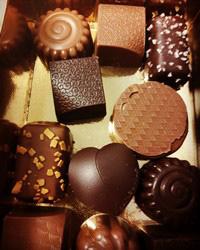 Merci benoit pour les chocolats